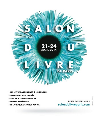 Affiche Salon du livre de Paris 2014